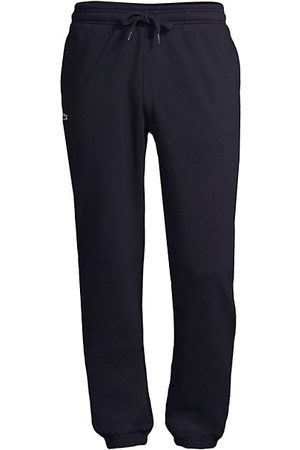 Lacoste Solid Sweatpants with Drawstring