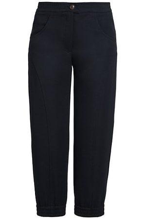 Armani Virgin Wool Cropped Trousers