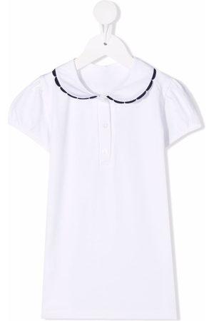 Siola Contrast-trim cotton polo shirt