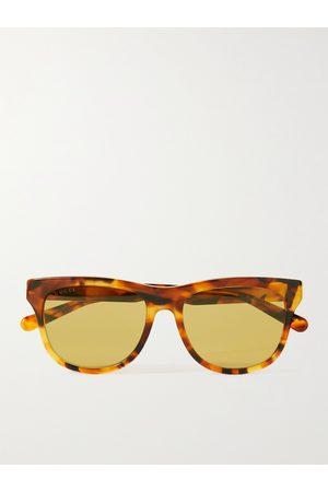 Gucci Men Sunglasses - D-Frame Tortoiseshell Acetate Sunglasses
