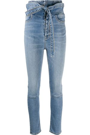 Unravel Project Women Skinny - Ultra-high waisted skinny jeans