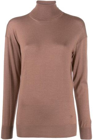 Tom Ford Women Sweaters - Roll neck fine knit jumper