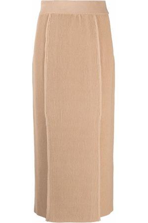 12 STOREEZ Women Pencil Skirts - Ribbed knit skirt
