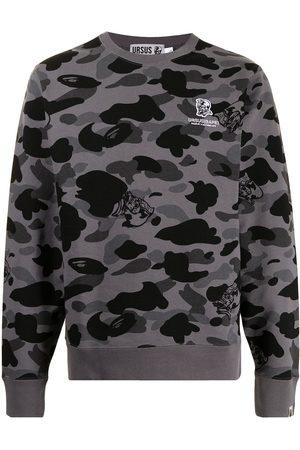 A Bathing Ape Camouflage-print cotton sweatshirt