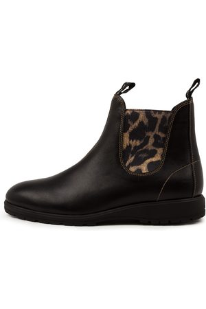 Rollie Women Ankle Boots - Fields Chelsea Rl Leopard Boots Womens Shoes Casual Ankle Boots