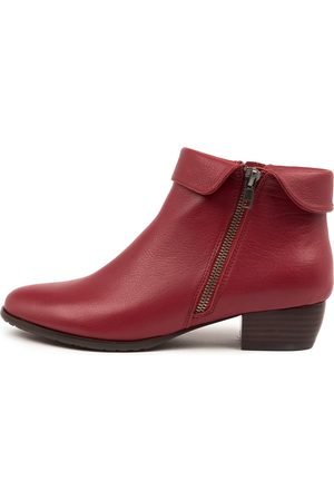 Django & Juliette Twinzip Pinot Boots Womens Shoes Casual Ankle Boots