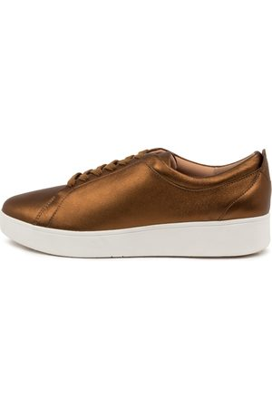 FitFlop Rally Sneaker Bronze Sneakers Womens Shoes Casual Casual Sneakers