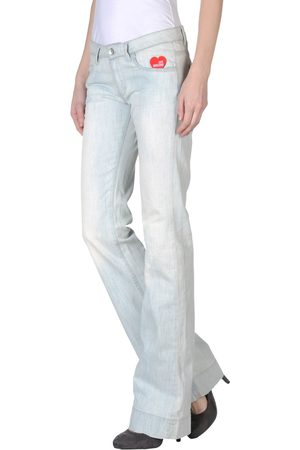 Love Moschino Women Stretch Pants - Denim pants