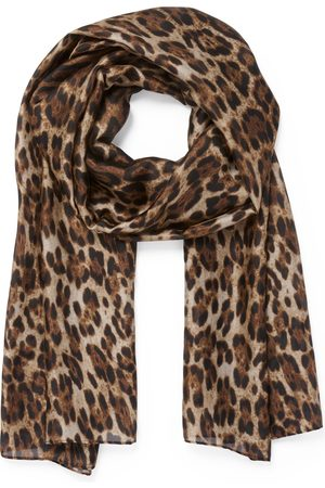 Forever New Betty Leopard Print Scarf