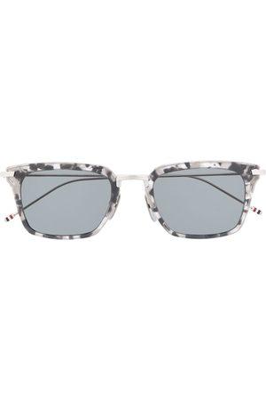 Thom Browne Sunglasses - Wayfarer rectangular-frame sunglasses