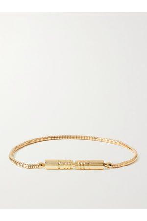 LUIS MORAIS Men Bracelets - Liquid Plug Lock 18-Karat Bracelet
