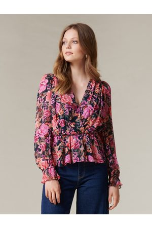 Forever New Westlyn Wrap Blouse