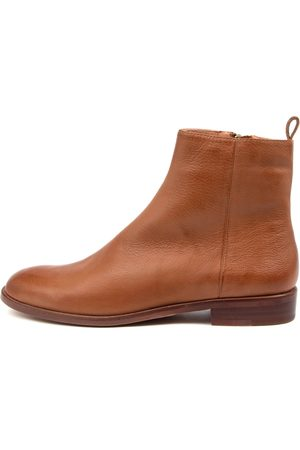 Mollini Workan Mo Cognac Boots Womens Shoes Casual Ankle Boots