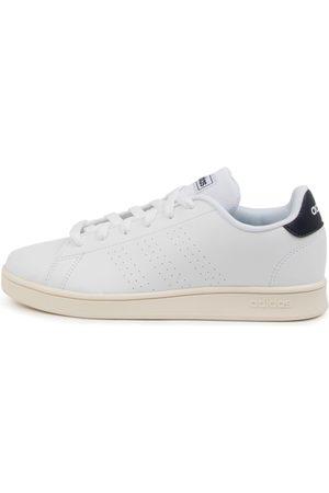 adidas Advantage K Jnr Ink Shoes Girls Shoes School Flat Shoes