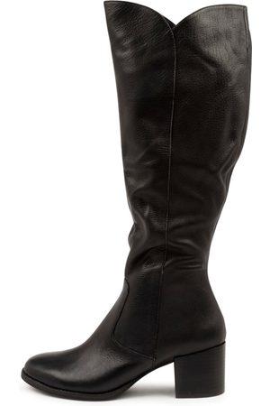 Django & Juliette Meryl Dj Heel Boots Womens Shoes Casual Long Boots