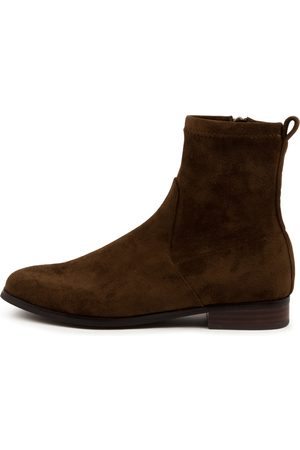 Diana Ferrari Women Ankle Boots - Finkis Df Choc Boots Womens Shoes Casual Ankle Boots