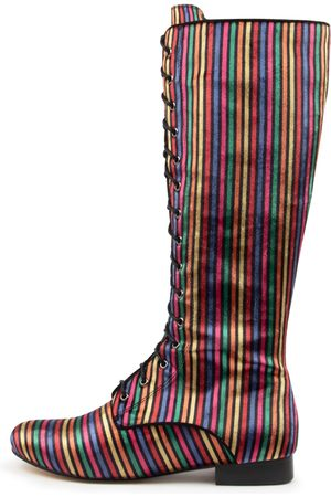 I LOVE BILLY Enjoying Il Bright Multi Boots Womens Shoes Casual Long Boots