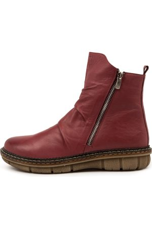 Colorado Denim Anina Cf Wine Boots Womens Shoes Casual Ankle Boots