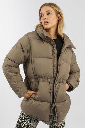 Stylerunner Women Winter Jackets - Cinched Puffer