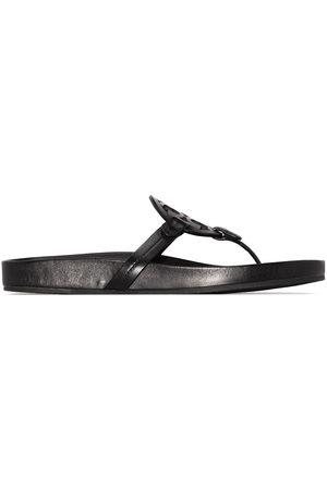 Tory Burch Women Sandals - Miller monogram flat sandals
