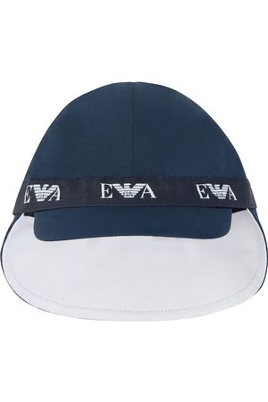 Emporio Armani Caps - Logo-tape baseball cap