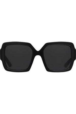 Prada Oversize-frame tinted sunglasses
