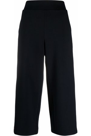 Karl Lagerfeld Tape wide-leg track pants