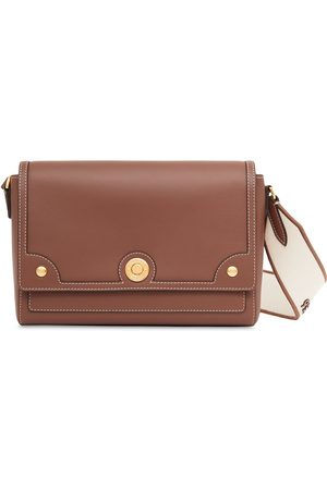 Burberry Women Shoulder Bags - Topstitched leather crossbody bag