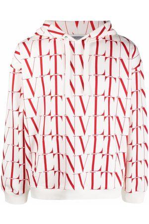 VALENTINO VLTN logo-print hoodie