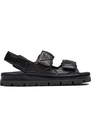 Prada Women Sandals - Logo-strap chunky sandals