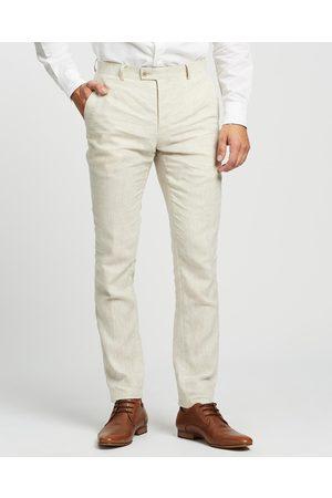 Calvin Klein Extreme Slim Suit Pants - Suits & Blazers (ECRU) Extreme Slim Suit Pants