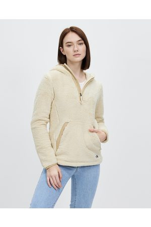 The North Face Campshire Fleece Pullover Hoodie 2.0 - Hoodies (Bleached Sand & Hawthorne Khaki) Campshire Fleece Pullover Hoodie 2.0