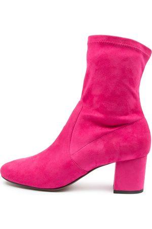 Mollini Careful Fuchsia Boots Womens Shoes Casual Ankle Boots