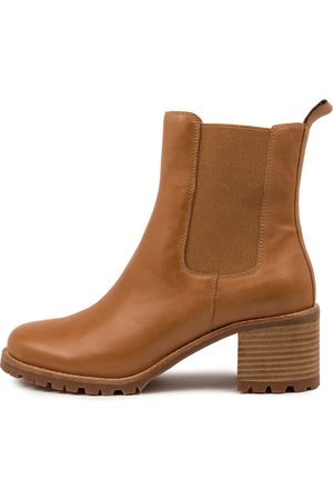 Top end Neena To Tan Boots Womens Shoes Casual Ankle Boots