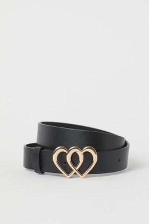 H&M Girls Belts - Heart Buckle Belt