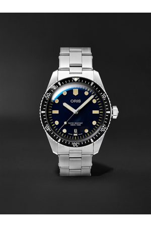 ORIS Men Watches - Divers Sixty-Five Automatic 40mm Stainless Steel Watch, Ref. No. 01 733 7707 4055-07 8 20 18