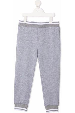 MONNALISA Stripe-trimmed track pants