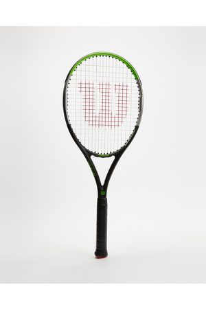 Wilson Accessories - Blade Feel 100 Tennis Racket - All Team Sports ( & ) Blade Feel 100 Tennis Racket