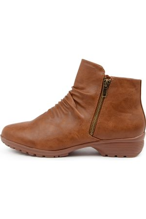 I LOVE BILLY Pharlap Il Tan Boots Womens Shoes Casual Ankle Boots