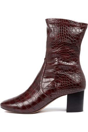Mollini Women Ankle Boots - Carefulx Mo Wine Boots Womens Shoes Casual Ankle Boots