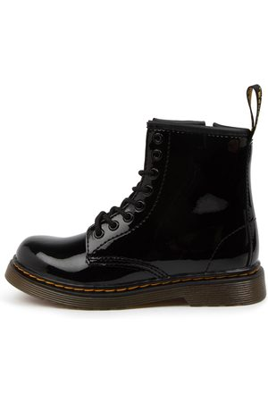 Dr. Martens 1460 Juniors Lace Boot Dm Patent Lamper Boots Girls Shoes Casual Ankle Boots