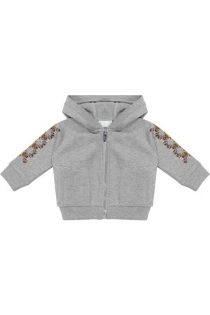 Burberry Baby Thomas Bear cotton hoodie
