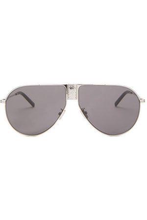 Dior - Diorice Aviator Metal Sunglasses - Mens
