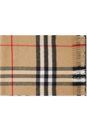 Burberry Men Scarves - Vintage Check Cashmere Scarf
