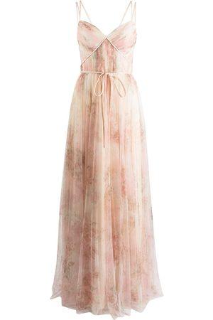Marchesa Notte Bridesmaids Florence floral-print dress