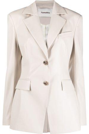 Nanushka Women Blazers - Hathi single-breasted blazer