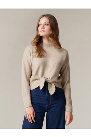 Forever New Women Sweaters - Sophie Tie Front Knit Jumper