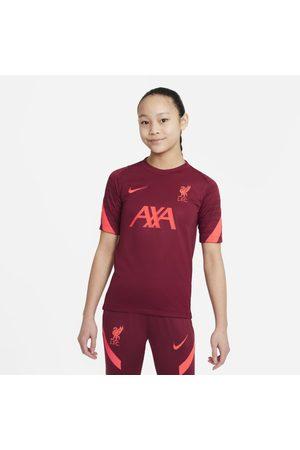 Nike Short Sleeve - Liverpool F.C. Strike Older Kids' Short-Sleeve Football Top