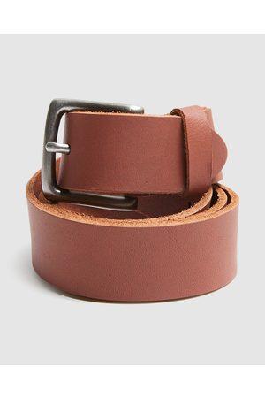 Arvust Men Belts - Everyday Leather Belt Cigar