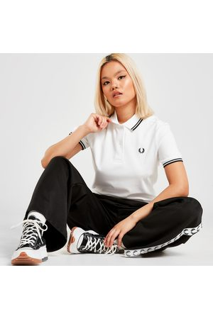 Fred Perry Twin Tip Polo Shirt - - Womens